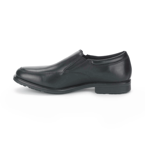 Essential Details Waterproof Slip On - Men's Black Dress Shoes