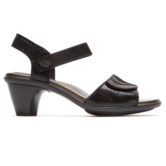 Medici Sandal  Extended Size Women's Shoes in Black