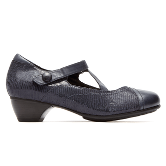 Provence Portia Mary Jane in Navy