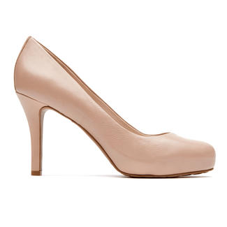Rockport Women's Nude Seven to 7 High Plain Pump