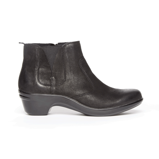 Kitt Bootie, BLACK LEATHER