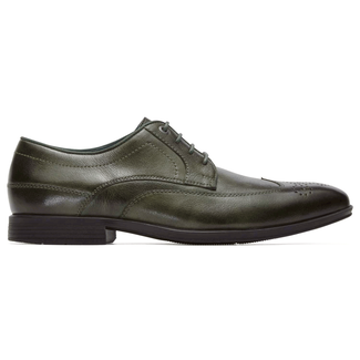 Style Connected Wingtip in Green