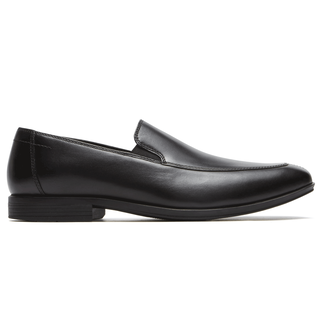Style Connected Venetian Comfortable Men's Shoes in Black