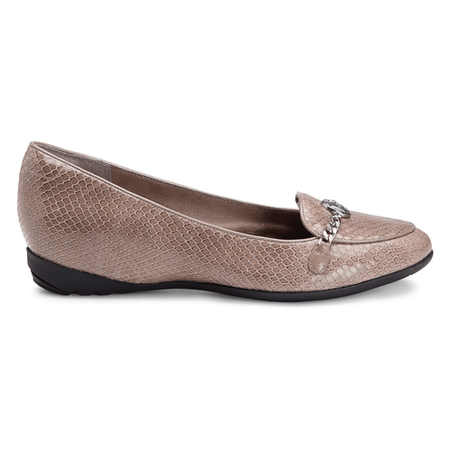truLisa Chain Moc Women's Shoes in Grey