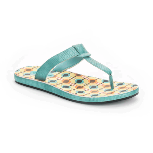Zolina Loop Thong Women's Sandals in Navy