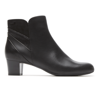 Total Motion Cherith Waterproof Bootie in Black