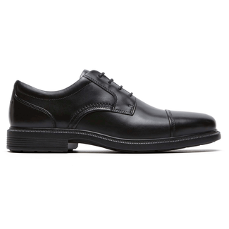 DresSports Luxe Cap Toe OxfordRockport Men's Black DresSports Luxe Cap Toe Oxford