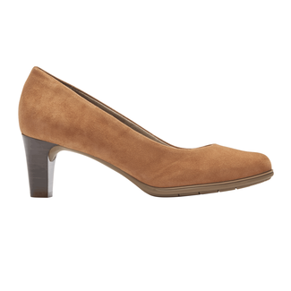 Total Motion Melora Plain Pump, COCONUT SUEDE