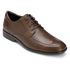 Business Lite Moc Toe Men's Dress Shoes in Brown