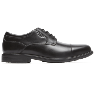 Essential Details II Bike Toe Cap Toe Comfortable Men's Shoes in Black