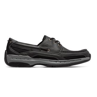 Waterford Captain Boat Shoe in Black