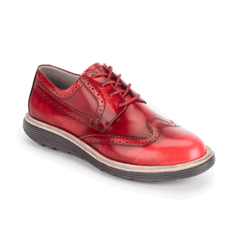 truWALKzero Welt Oxford, Women's Redwood Walking Shoes