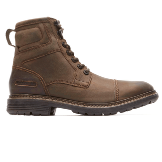 Urban Retreat Inside Zip Boot in Brown