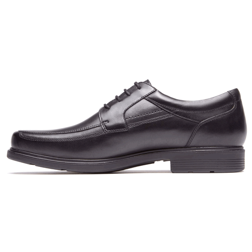Style Tip Moc Toe Oxford - Men's Black Oxfords
