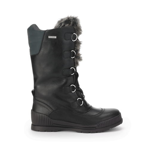 Aliana Laceup Boot, Women's Black Boots