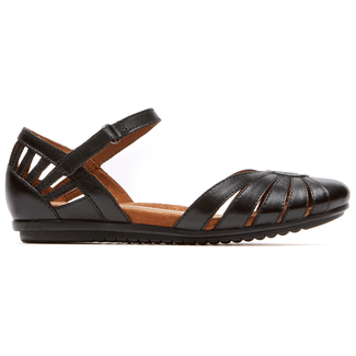 Irene Sandal Cobb Hill by Rockport in Black