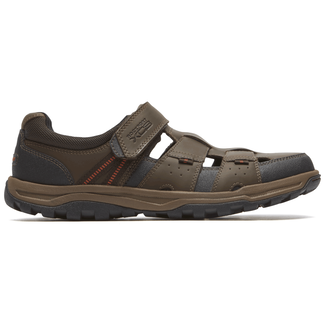 Trail Technique Fisherman Sandal  Comfortable Men's Shoes in Brown