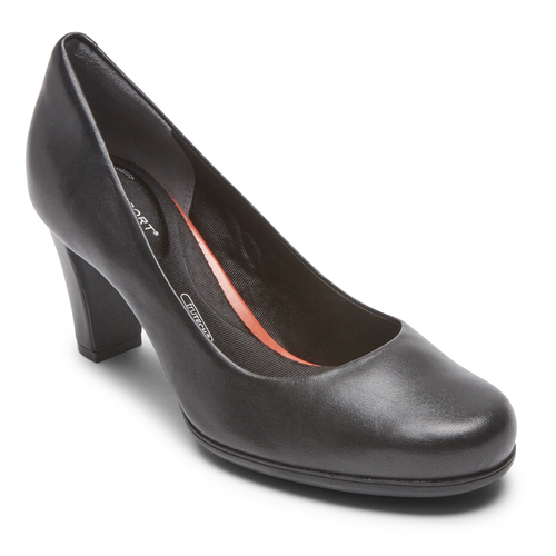 Total Motion Mid-PumpTotal Motion Mid Pump - Women's Black Heels