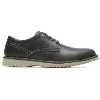 Cabot Plaintoe  Comfortable Men's Shoes in Grey