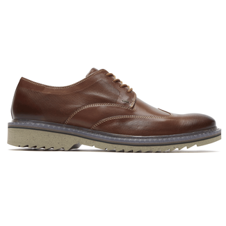Jaxson Wing Tip, BROWN LE