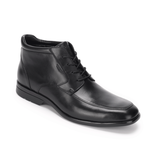 Business Lite Lace Up Chukka, Men's Black Boots