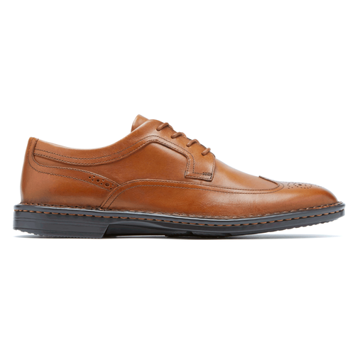 RocSports Lite Business Wingtip - Men's Chili Dress Casual Shoes