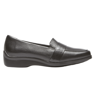 Winsor Moc Loafer, BLACK LEATHER