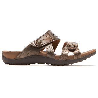 Renee Sandal Cobb Hill by Rockport in Brown