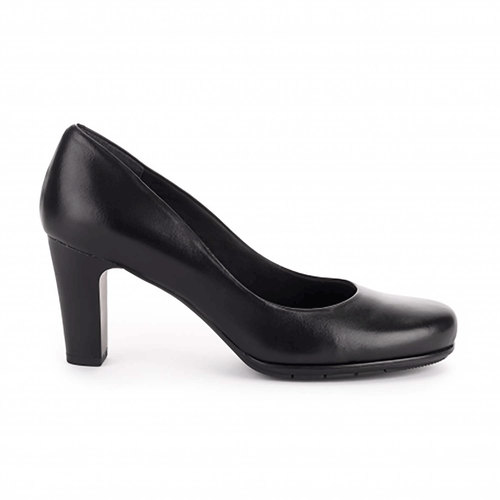 Total Motion Mid Pump - Women's Black Heels