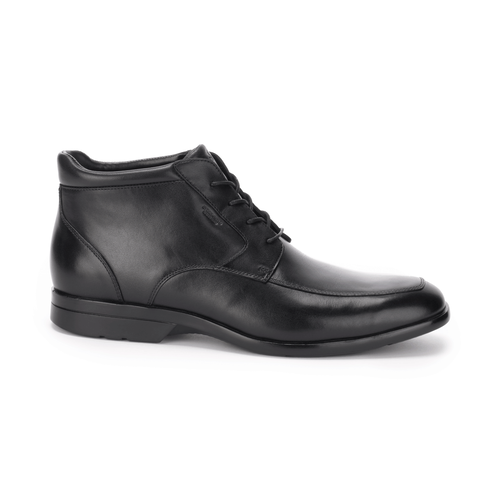 Business Lite Lace Up Chukka Men's Boots in Black