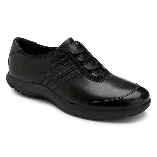 World Tour Ghilley Lace Up Women's Walking Shoes in Black