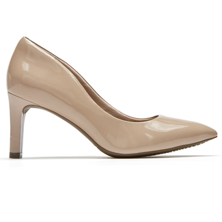 Total Motion Valerie Luxe Pump, DK WARM TAUPE PATENT