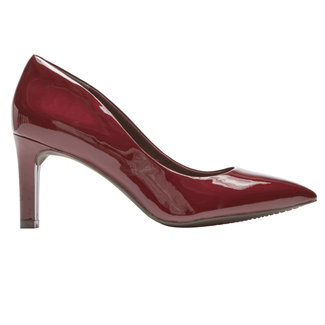 Total Motion Valerie Luxe Pump, MERLOT PEARL PATENT
