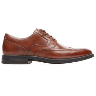 DresSports Modern Wingtip in Brown