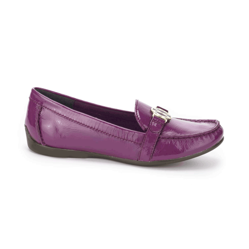 Demisa Circle Loafer Women's Flats in Purple