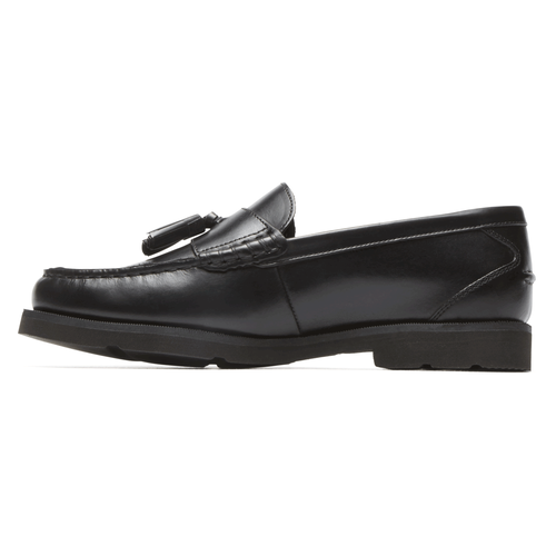 Modern Prep Tassel Loafer in Black