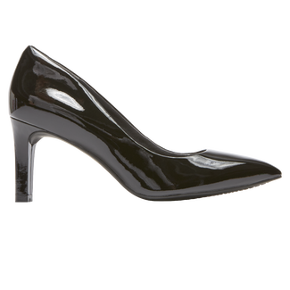 Total Motion Valerie Luxe Pump, BLACK PATENT