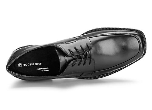 Ready For Business Moc Front - Men's Black Dress Shoes