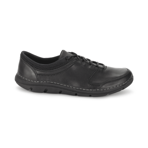 RocSports Lite Lace Up Women's Sneakers in Black