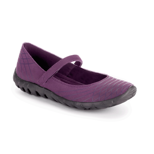 truWALKzero Welded Mary-JanetruWALKzero Welded Mary Jane, Women's Purple Walking Shoes