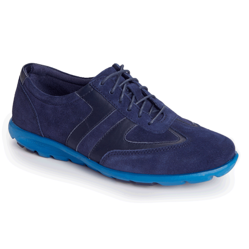 truWALKzero II T-Toe Lace Up Women's Sneakers in Navy