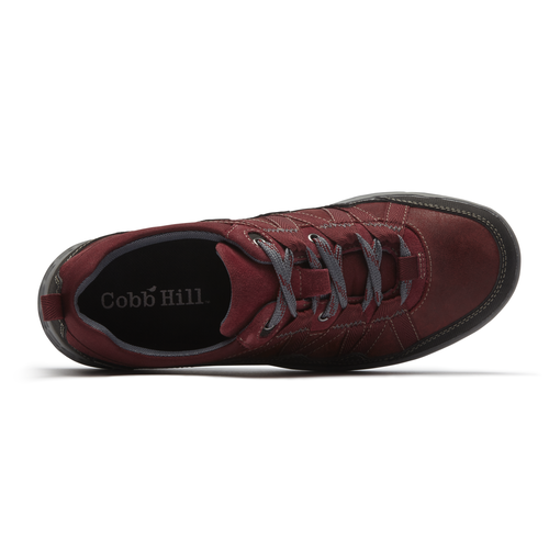 Cobb Hill FreshExcel Waterproof Lace Up, RED2