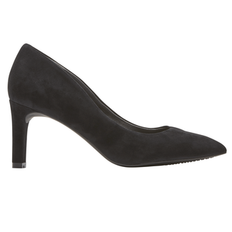 Total Motion Valerie Luxe Pump, BLACK SUEDE