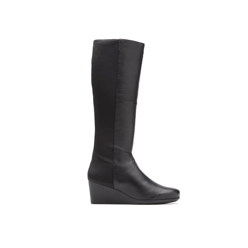 Total Motion Tall Stretch Boot Women's Boots in Black