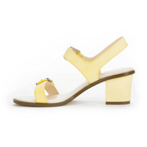 Vikara Double Buckle Women's Shoes in White