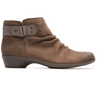 Nicole Bootie Cobb Hill by Rockport in Brown