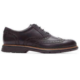 Total Motion Fusion Wing TipRockport Men's Black Total Motion Fusion Wing Tip