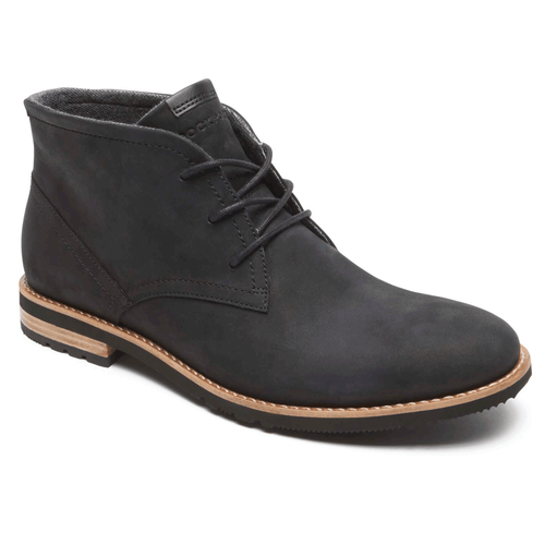 Ledge Hill 2 Lace Up Chukka in Black