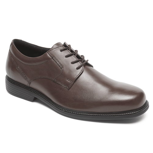 Charles Road Plaintoe Oxford in Brown