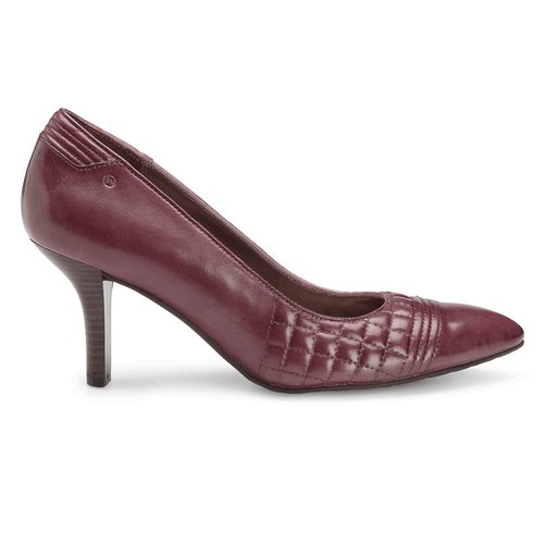 Lianna Quilted Pump Women's Pumps in Brown